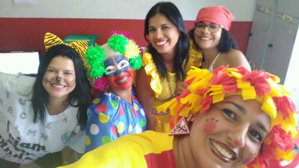 Primeiro dia letivo na Escola Municipal Bartolomeu Guedes no ano 2018